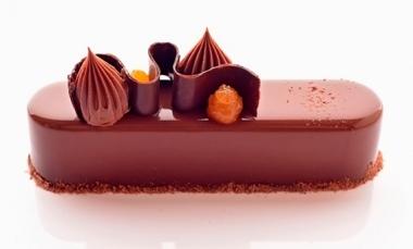 Modern Sacher cake