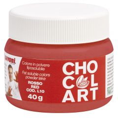 liposoluble colors-red-chocolart