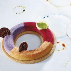 Pavoni Italia-stampo silicone-Gourmand-Tondo-GG006