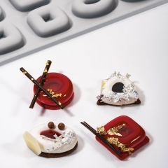 Pavoni Italia stampi in silicone Gourmand 300x175 mm Triaround