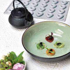 Pavoni Italia stampo in silicone Gourmand 300x175 mm a forma di ovale e quadrato Ovosquare