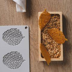 Pavoni Italia stampi silicone Gourmand 300x200 mm Leaf