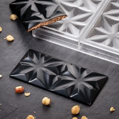 PC5005 Edelweiss by Vincent Vallée for Pavoni Italia choco bar moulds