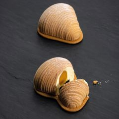 Silicone mould for sfogliatella monoportion by Pavoni Italia