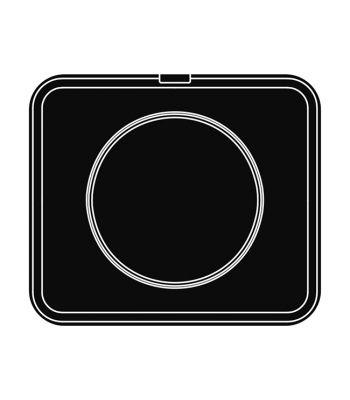 Pavoni Italia | Professional | Piastra per tartellatrice Cookmatic rotonda