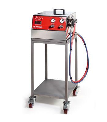 Carrello-acciaio inox-Ciocospritz-macchine-Pavoni Italia
