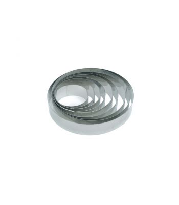 Fascia rotonda inox X3926