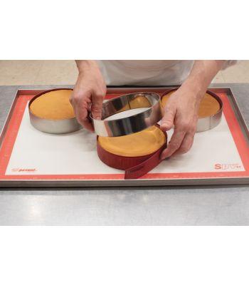 Forosil Strip strisce in silicone per foderare anelli per torte by Pavoni Italia