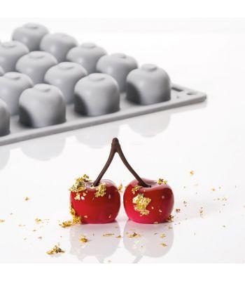 Pavoni Italia stampo in silicone Gourmand 300x175 mm a forma di ciliegia