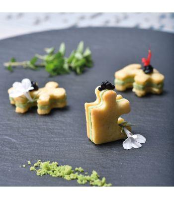 Pavoni Italia stampo in silicone Gourmand 300x175 mm a forma di puzzle