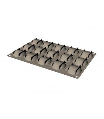 GG032S-Scallop-stampo silicone-capasanta-Foo'd-Davide Oldani