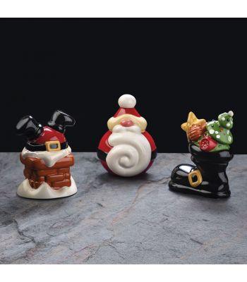 Pavoni Italia stampo termoformato soggetto di Natale Santa Boot KT181