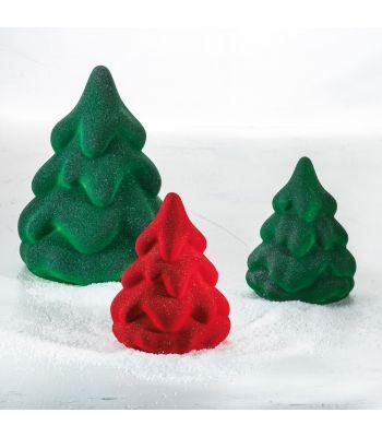 Stampo termoformato a soggetto natalizio. Kit albero SNOW TREE Pavoni Italia