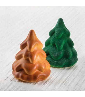 Stampo termoformato a soggetto natalizio. Kit albero MINI SNOW TREE