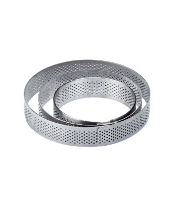 Fascia microforata inox XF1120 rotonda
