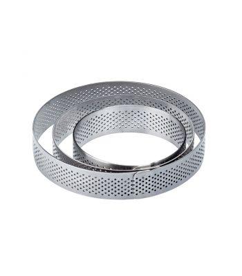 Fascia inox XF7020 rotonda microforata
