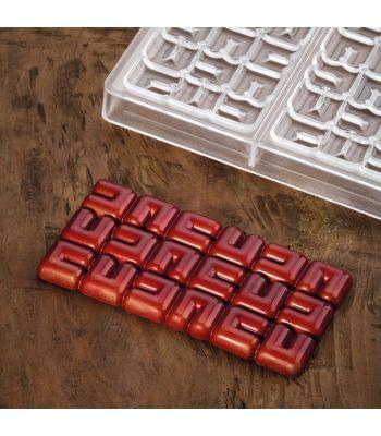 Pavoni Italia stampi per tavolette di cioccolato by Fabrizio Fiorani per Pavoni italia PC5003 Ola