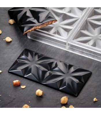 Pavoni Italia PC5005 Edelweiss by Vincent Vallée stampi per tavolette in cioccolato