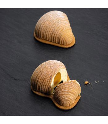 Stampo in silicone sfogliatella monoporzione by Pavoni italia