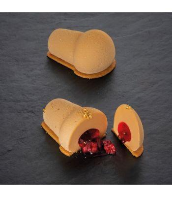 Stampo in silicone per monoporzioni Babà PX4382S