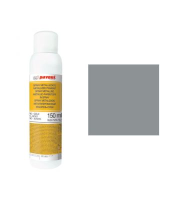 metallized spray-alcoholic base- dark silver