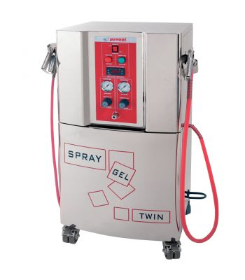 spray gel twin-macchine-Pavoni Italia