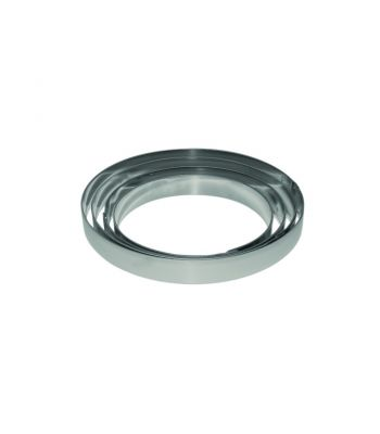Fascia rotonda inox X2602