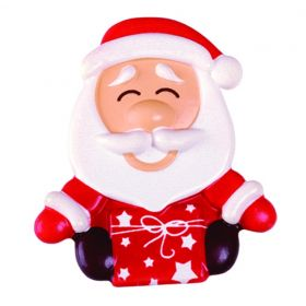 T837-Christmas-Santa Claus-silkscreened moulds