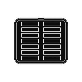 Pavoni Italia | Professional | Cookmatic rectangular shaped plate