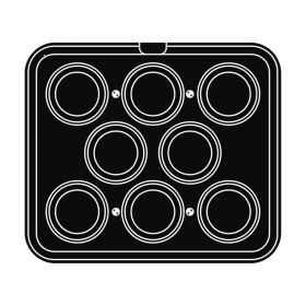 Pavoni Italia | Professional | Cookmatic oval shaped plate