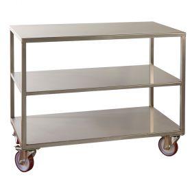 Stainless steel Cart-Lira-Pavoni Italia