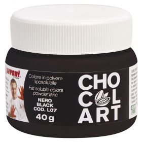 Liposoluble lacquers -colors Chocolart- black.
