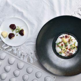 Pavoni Italia silicone mould Gourmand 300x175 mm Chestnut