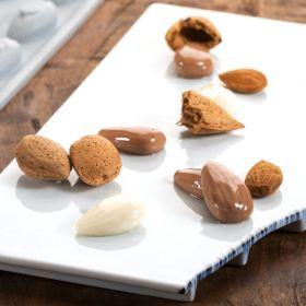 Pavoni Italia silicone mould Gourmand 300x175 mm Almond