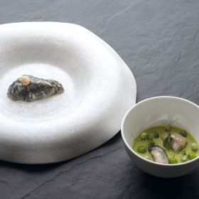 Pavoni Italia Foo'd Davide Oldani silicone mould Oyster GG033