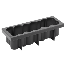 KE045-Coin-silicone pastry mould-log