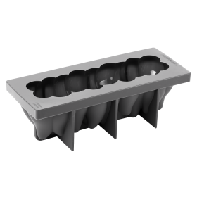 KE046-Anemone-silicone pastry mould-log