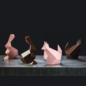 Pavoni Italia thermoformed mould for chocolate, Easter collection Rocky Rooster