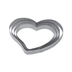 XF31-Heart-stainless-steel-micro-perforated-band