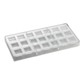 PC105-Artisanal-square line-praline-moulds