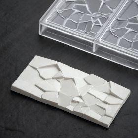 PC5002 Crush Chocolate bar moulds by Fabrizio Fiorani for Pavoni Italia