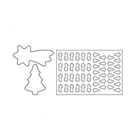 PF9-Cometa-plastic-cookies cutting sheets-Pavoni Italia