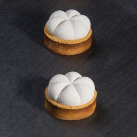 Charm silicone moulds for modern tarts tops by Pavoni Italia