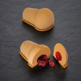 Silicone mould for single-serving portion Babà
