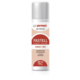 pastel spray-water basis-red