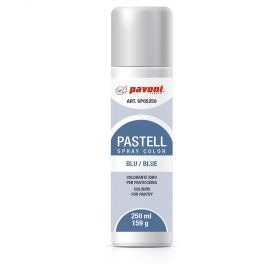 pastel spray-water basis- blue