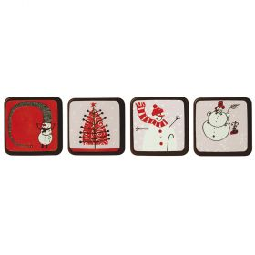 T108-Christmas pictures-silkscreened moulds