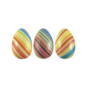 T608-Metallic silkscreened-thermoformed-Easter egg-moulds