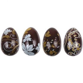 T966-Metallic silkscreened-thermoformed-Easter egg-moulds