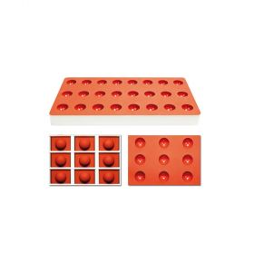 TG1002-Silicone-jelly moulds-half sphere